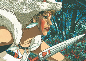 One Wolf Battles Against All Mankind by Jazmina Cininas