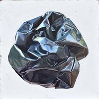 Black Postage Bag
