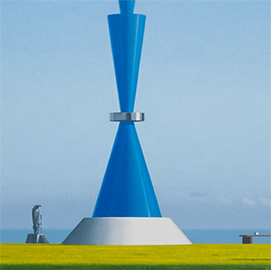 Sculptures by the Sea, Augustine Dall'Ava & Jon Eiseman