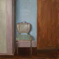 Marie Mansfield, Chair by the Door II