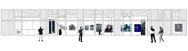 New FLG gallery design by Object Subject Architects