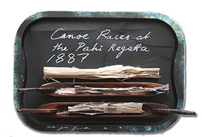Canoe Races at the Pahi Regatta