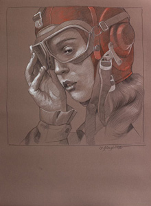 Pilot Girl 32