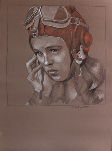 Pilot Girl 33