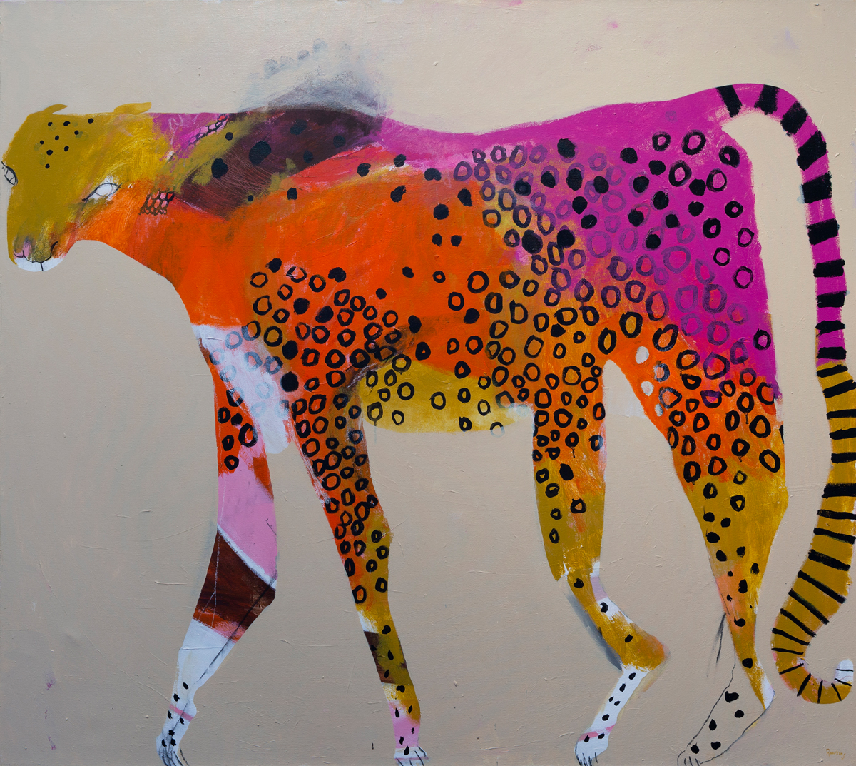 Lady Leopard (limited edition print)