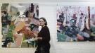 Melissa Boughey in her studio