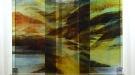 Glass Land Slide II (triptych)