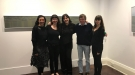 Gina Kalabishis, Hannah Quinlivan, Claire Harris, Ken Smith and Melanie Caple