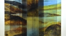 Glass Land Slide VIII (triptych)