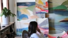 Belynda Henry in her studio