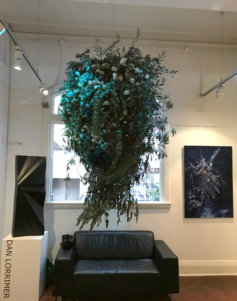 Floral ikebana in collaboration with Vasette