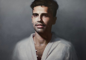 Michael Simms announced as finalist in the 2020 Shirley Hannan Portrait Prize