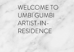 Gina Kalabishis to embark on 2 week Umbi Gumbi Artist in Residence program